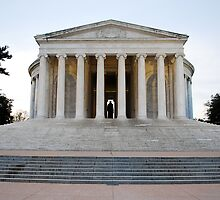 Jefferson Memorial - Front by Pschtyckque