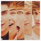 One Direction Faces by xogang