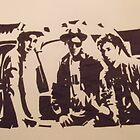 The Beastie Boys by DanAkABungle