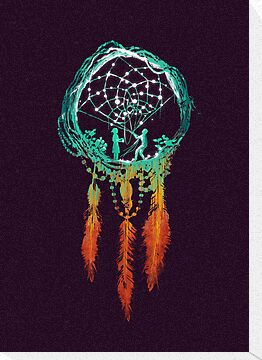 The Dream catcher (rustic magic) by Budi Satria Kwan