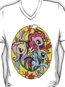 Fluttershy Pinkie Pie Rainbowdash T-Shirt