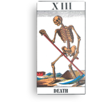 Death Tarot Card Metal Print