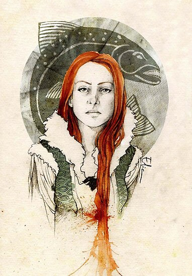 Catelyn Tully by elia, illustration