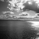 Cloudy waters (Black & White) by Cake