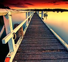 Donnelly Jetty Sunset by Arfan Habib