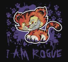 RogueTiger.com - Smirk Purple (dark) by roguetiger