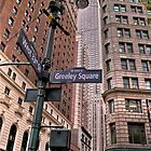 Greeley Square by Photographs by Crane