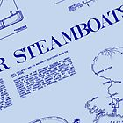 Steamboat Blueprint by sundayedition
