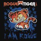 RogueTiger.com - Smirk Logo Blue (dark) by roguetiger