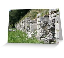 Hellenistic Agora Greeting Card