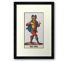 The Fool Tarot Framed Print