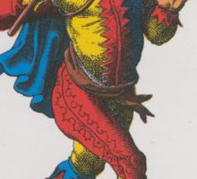 The Fool Tarot Sticker