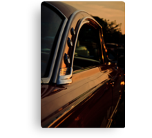 Sunliner Sunset Canvas Print