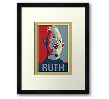 """Sloth from The Goonies - """"Ruth"""" Framed Print"""