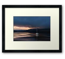 Nothing special…nothing sweet…just an innocent good night wishes! Framed Print