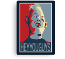 "Sloth from The Goonies - ""Hey You Guys"" Canvas Print"