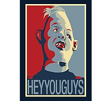 """Sloth from The Goonies - """"Hey You Guys"""" Photographic Print"""