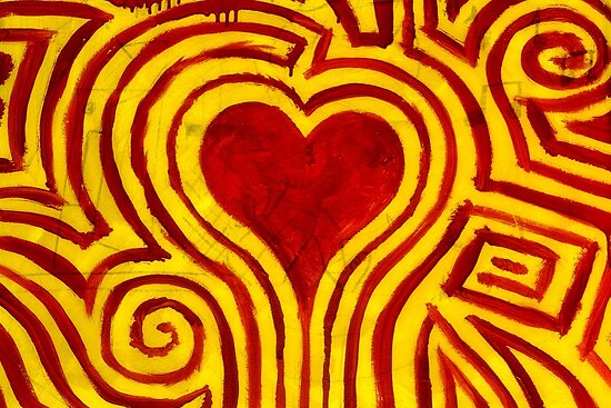 Psychedelic Heart by SuddenJim