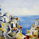 Memories of Santorini #3 by Ivana Pinaffo