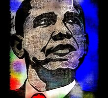 BARACK OBAMA-HOPE 3 by OTIS PORRITT