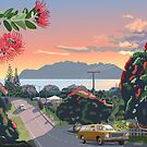 Great Barrier Island - Road to Leigh by contourcreative