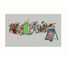 12th Doctor Audition Art Print
