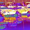 summer boats abstract by Ronald Eschner