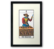 The Magician Tarot Framed Print