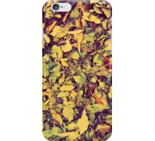 pile of leaves iPhone Case/Skin