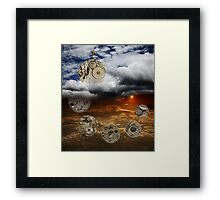 The Ageless Passage of Time Framed Print