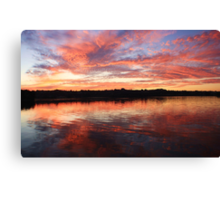 chinderah sunset ... Canvas Print
