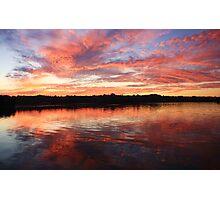 chinderah sunset ... Photographic Print