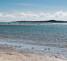 Low tide on Bannow beach, County Wexford, Ireland by Andrew Jones