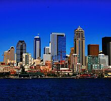 Seattle Waterfront by ZWC Photography