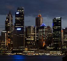 Sydney at Dusk by Damien Seidel