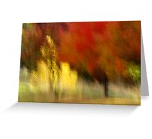 My Autumn View Greeting Card