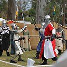 sword fighting by sharon wingard