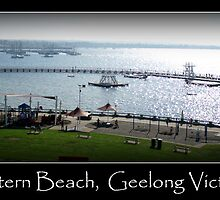 Eastern Beach, Geelong Victoria by Madgee