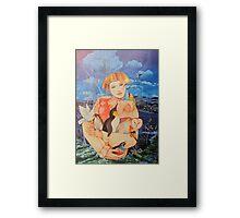 Daughter Framed Print