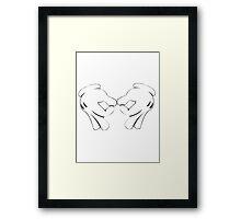 Mickey Gang  Framed Print
