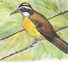Bird on a Wire by Lynda Earley
