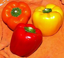Peppers three by ♥⊱ B. Randi Bailey