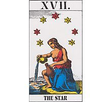 The Star Tarot Photographic Print
