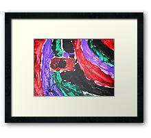 Camera Colour Flash Lomography Framed Print