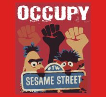 Occupy Sesame Street by megpato