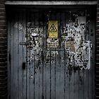 Old door. by cavan michaelides