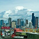 Approaching Downtown by Bryan D. Spellman