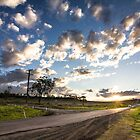 Back Road Sunset by Tim Swinson