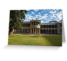 Brisbane Old Government House Greeting Card