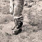 Muddy Boots by Lisa McIntyre